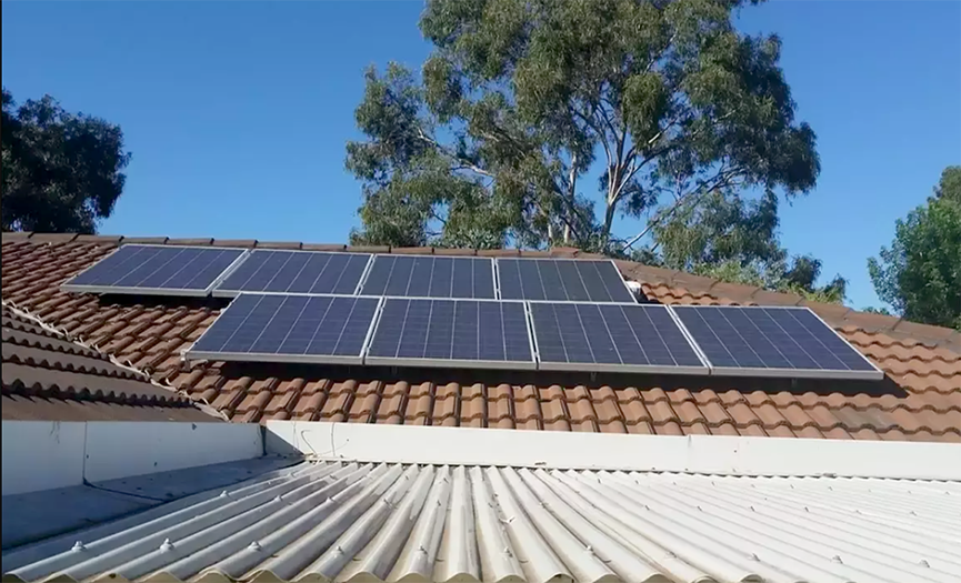 Solar PV Installation for Rural Families Living in Difficult Life
