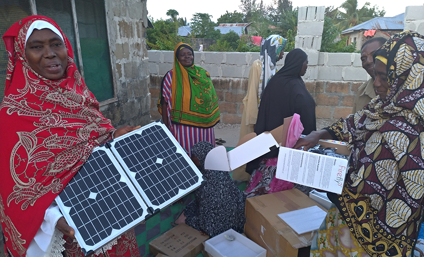 Business enhancement to the woman saving group in Central and South Districts of Zanzibar